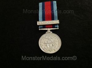 MINIATURE NORMANDY CAMPAIGN MEDAL (COMMEMORATIVE)